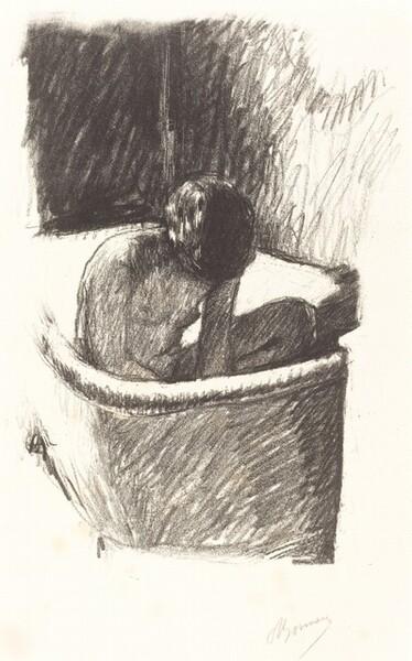 The Bath (Le Bain, deuxième planche)