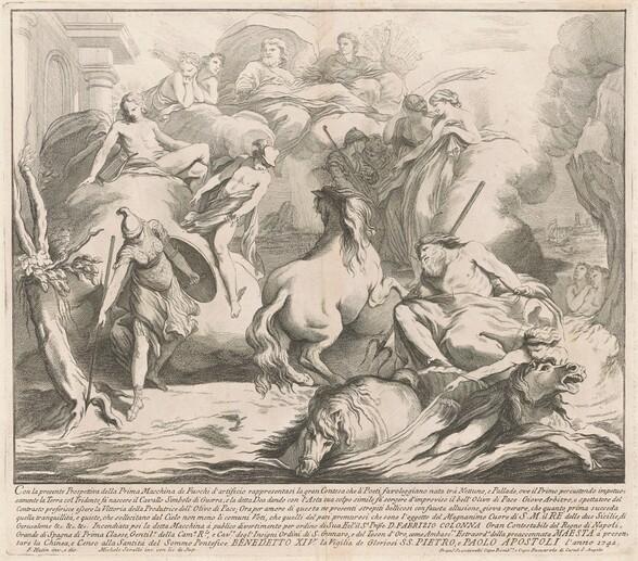 The Prima Macchina for the Chinea of 1742: The Contest of Neptune and Minerva