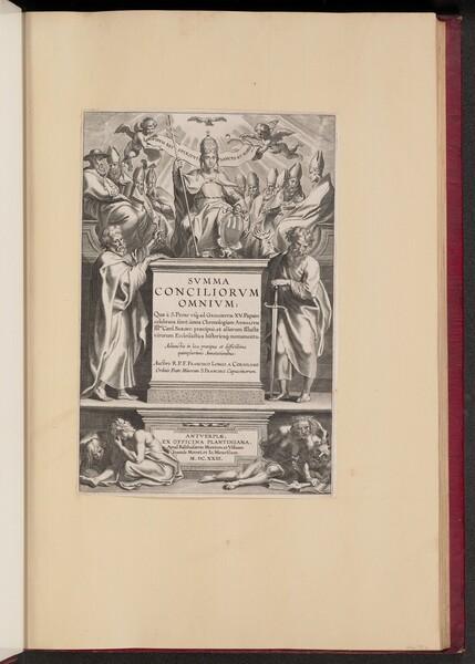 Title Page for F. Longo a Coriolano
