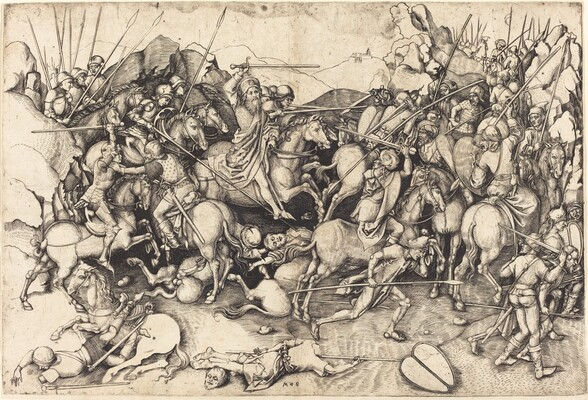 The Battle of Saint James at Clavijo