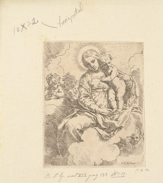 Virgin and Child in Glory
