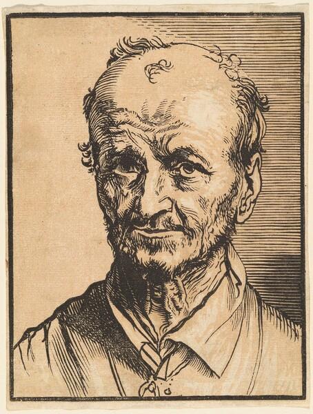 Bust of a Balding Man