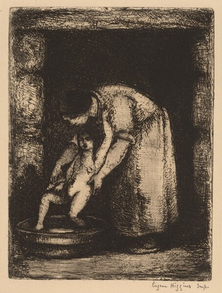 Washing Child