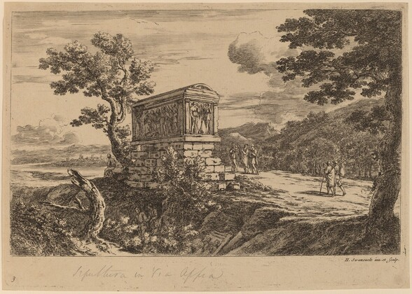 The Antique Sarcophagus