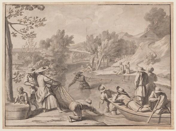 August: Fishing