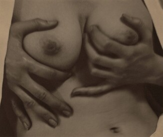 image: Georgia O'Keeffe—Hands and Breasts