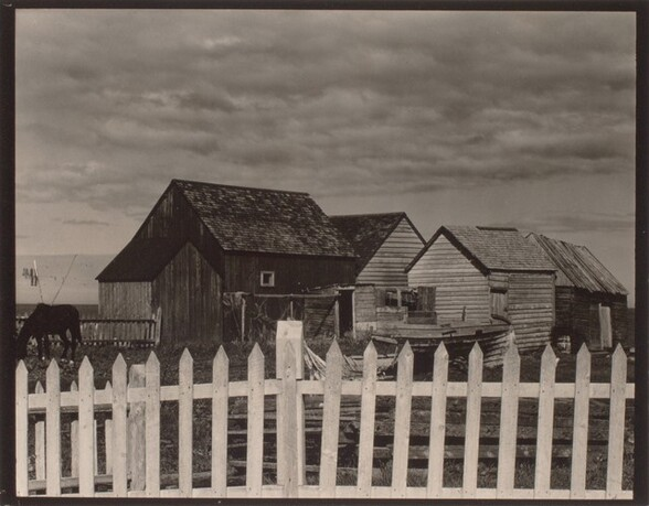 Fence and Houses, Gaspé
