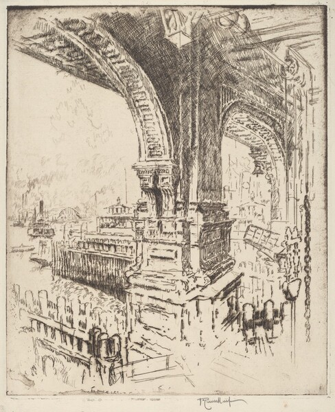 Within the Ferry, Cortlandt Street, New York