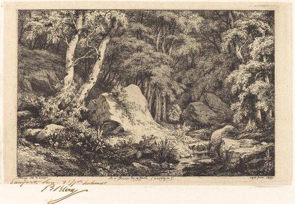 Au ravin de la faille, Auvergne (The Ravine at Auvergne)