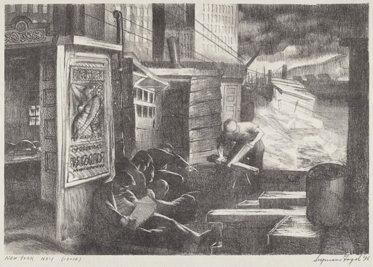 Seymour Fogel, New York No. 1, 19361936