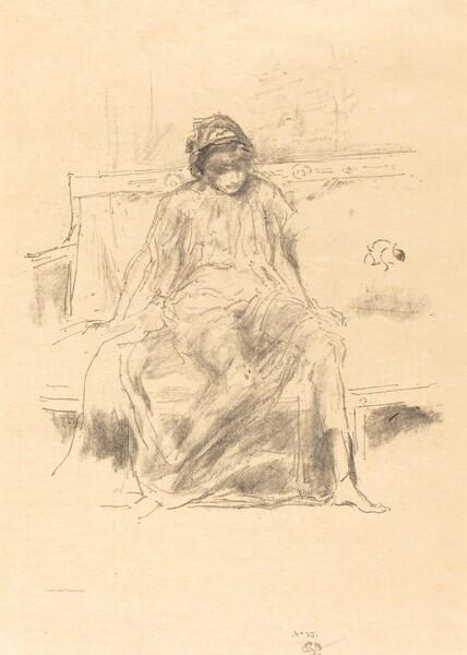 The Draped Figure, Seated