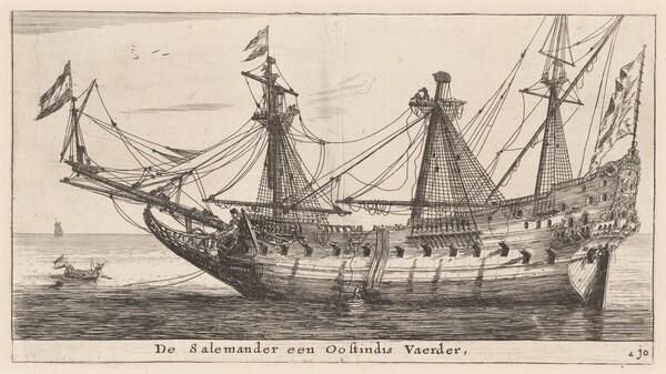 The Salemander, an East-Indian Merchantman