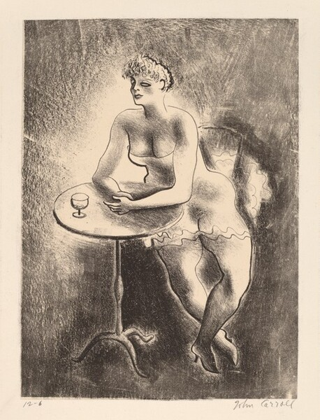 Untitled (Woman at a Table)