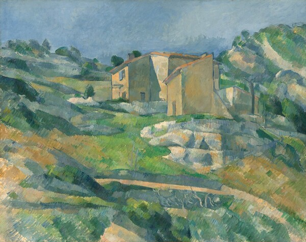 Houses in Provence: The Riaux Valley near L