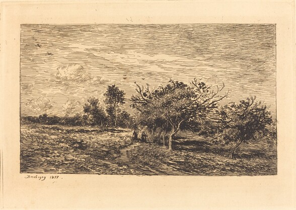 Apple Trees in Auvers (Pommiers a Auvers)
