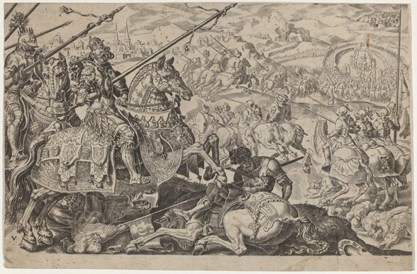 Suleiman the Magnificent Forced to Raise the Siege of Vienna