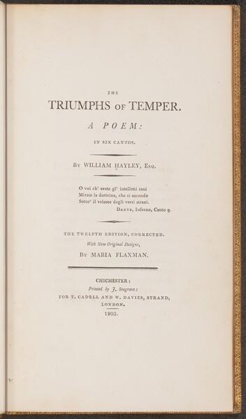 The Triumph of Temper