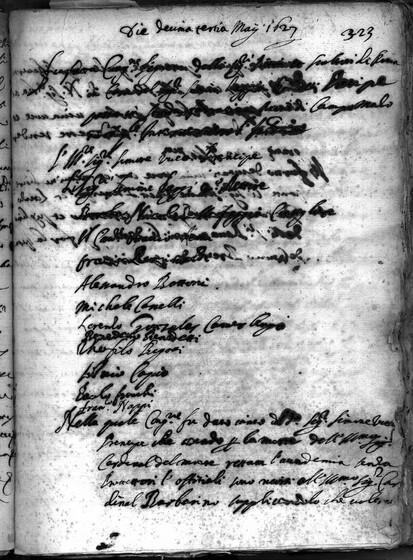 ASR, TNC, uff. 15, 1627, pt. 2, vol. 112, fol. 323r