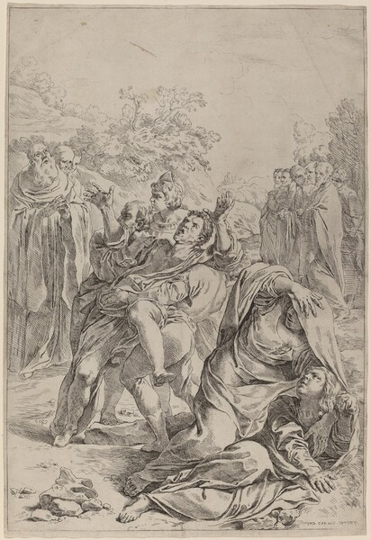 Saint Benedict Healing the Possessed