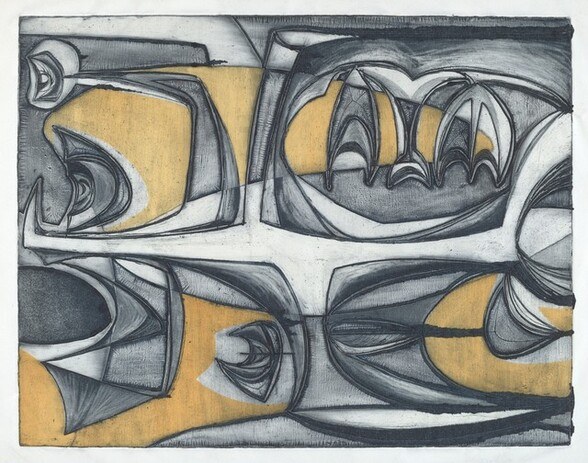 Untitled (Large Abstract Figure)