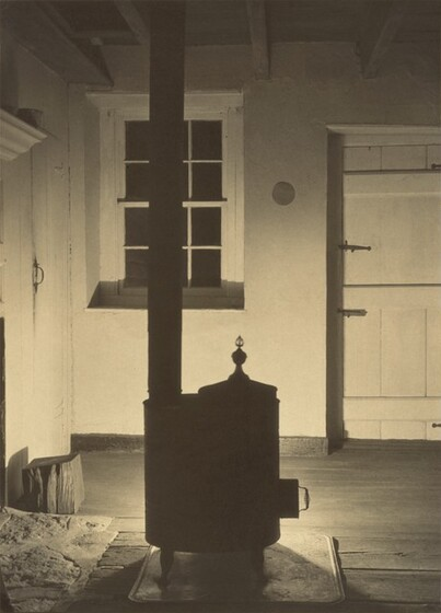 Charles Sheeler, Doylestown House--The Stove, 1917