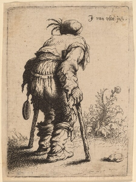 Beggar with Two Crutches