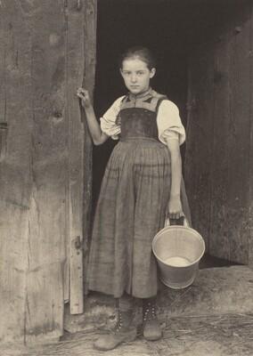 A Gutach Peasant Girl
