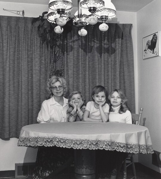 Mary Daniels with her Children, Republic Steel (Working People series)