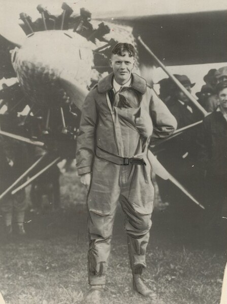 Captain Charles Lindbergh...
