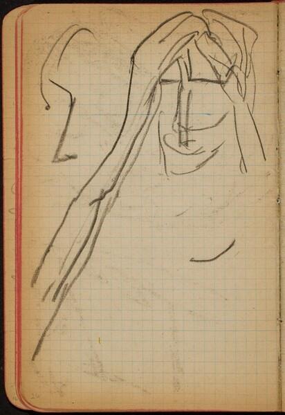 Figur mit Händen am Kopf (Figure with Hands at Head) [p. 26]