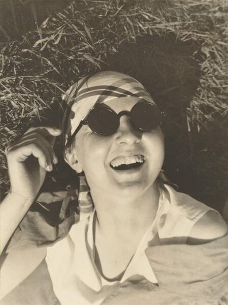Self-Portrait with Sunglasses, Dessau