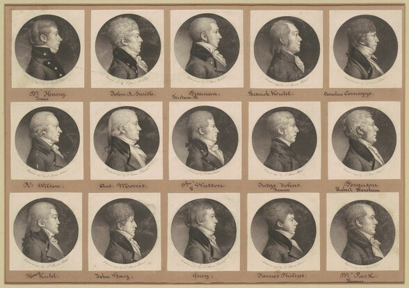 Saint-Mémin Collection of Portraits, Group 22