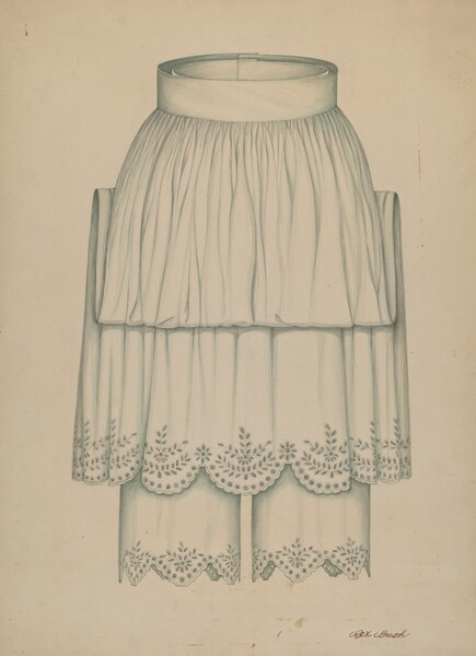 Petticoat and Pantalettes