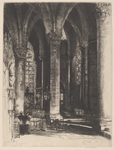 Interior of Chartres