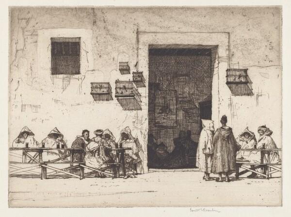 Arab Coffee House, Tangiers