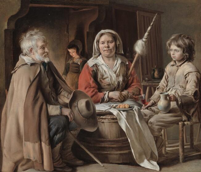 Louis Le Nain, Peasant Interior, c. 1645c. 1645