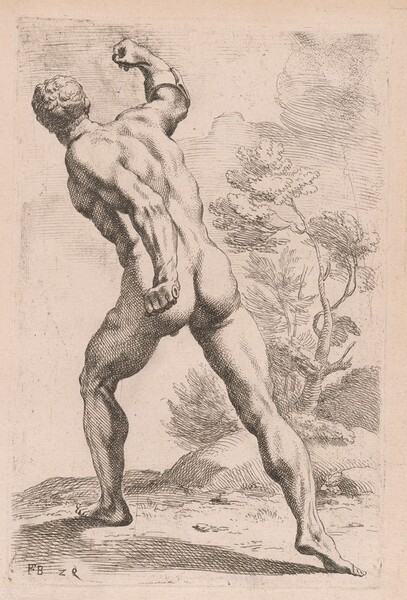 The Borghese Gladiator, back view [plate 29]