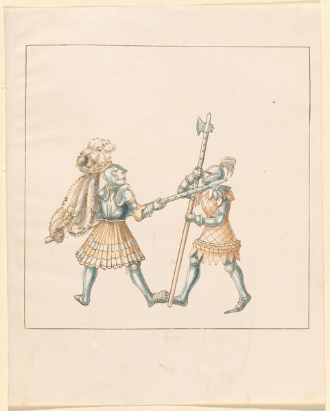 Freydal, The Book of Jousts and Tournament of Emperor Maximilian I: Combats on Foot (Jousts)(Volume III): Plate 144
