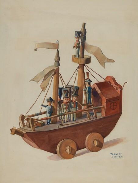 Toy Warship