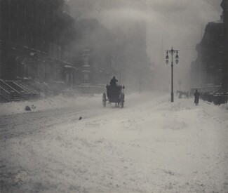 image: The Blizzard, New York