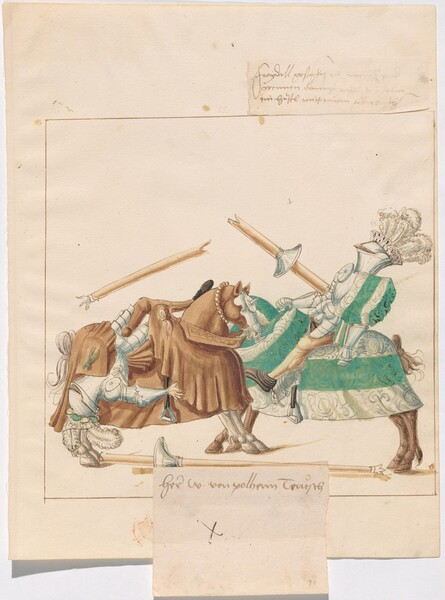 Freydal, The Book of Jousts and Tournaments of Emperor Maximilian I: Combats on Horseback (Jousts)(Volume I): W. von Polheim