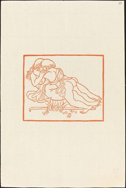 Second Book: Daphnis and Chloe Embrace One Another (Daphnis et Chloe apres le depart des Methymniens)