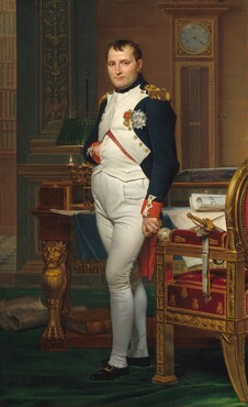 Jacques-Louis David, The Emperor Napoleon in His Study at the Tuileries, 1812