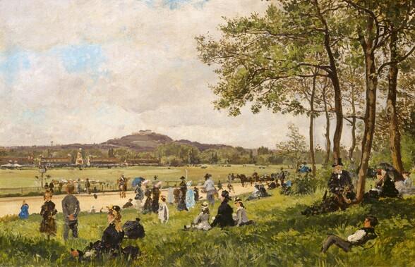 Race Course at Longchamps