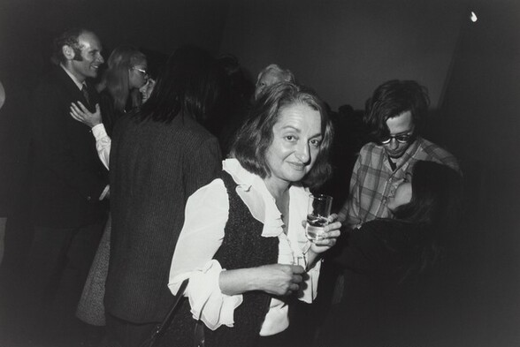 Betty Friedan, Opening at Whitney Museum, New York City