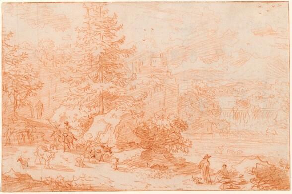 Northern Landscape Fantasy Evoking Tivoli