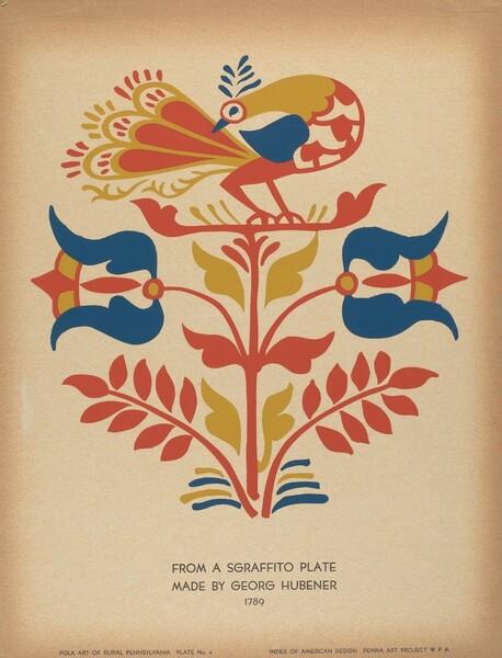 Plate 4: From Portfolio Folk Art of Rural Pennsylvania