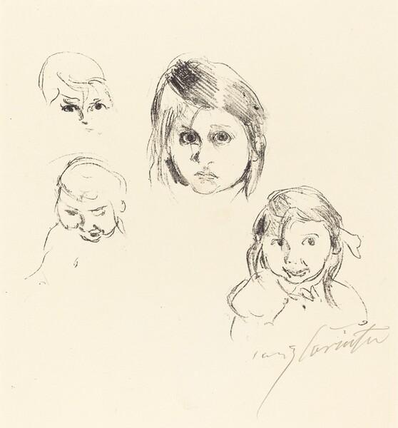 Kinderköpfe (Heads of Children)