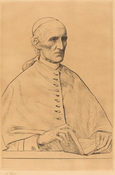 His Eminence Cardinal Manning, 1st plate
