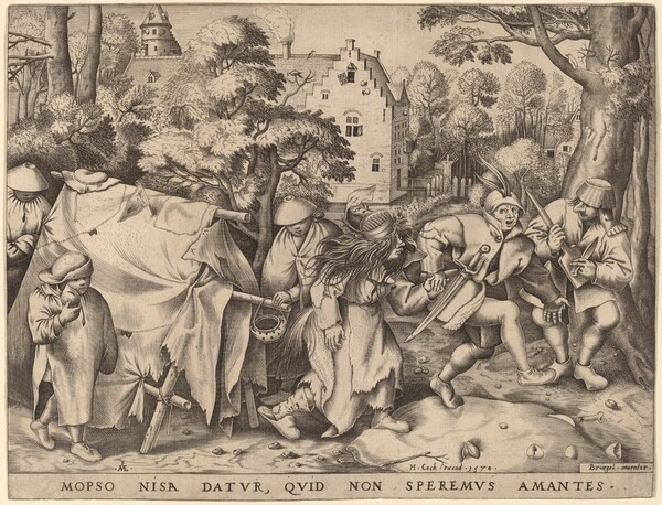 The Wedding of Mopsus and Nisa
